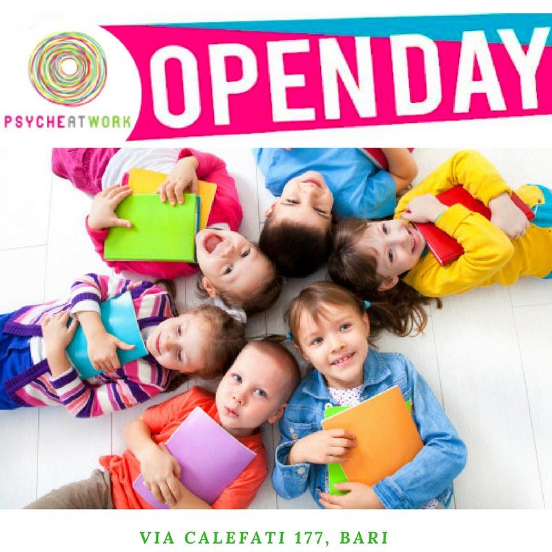 OPEN DAY: CORSO PER OPERATORE ALL'INFANZIA