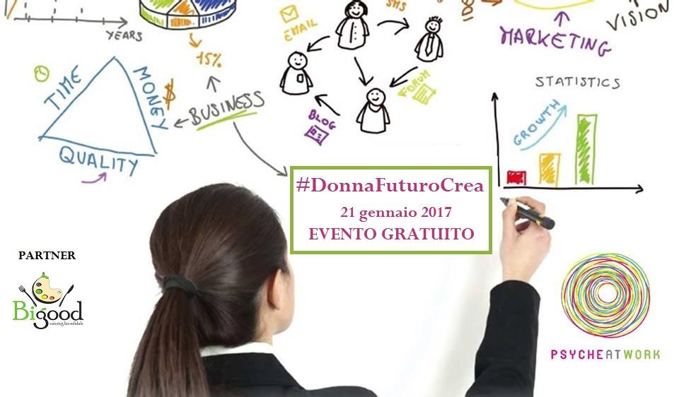 #DonnaFuturoCrea