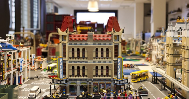 I mattoncini LEGO come strumento di business